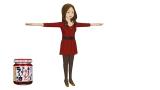 桃屋と脱力系CGアニメ「Peeping Life」のコラボレーション作品『ご縁ですよ!』の続編に登場するラー油ちゃん