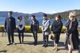 (左から)ゴリ、ダレノガレ明美、浜田雅功、藤井隆、かたせ梨乃、IKKO(C)読売テレビ