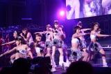 『Hello! Project COUNTDOWN PARTY 2013 〜 GOOD BYE & HELLO! 〜』に出演したモーニング娘。'14