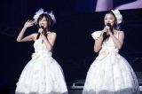 『Hello! Project COUNTDOWN PARTY 2013 〜 GOOD BYE & HELLO! 〜』に出演した美勇伝(左から)三好絵梨香、石川梨華
