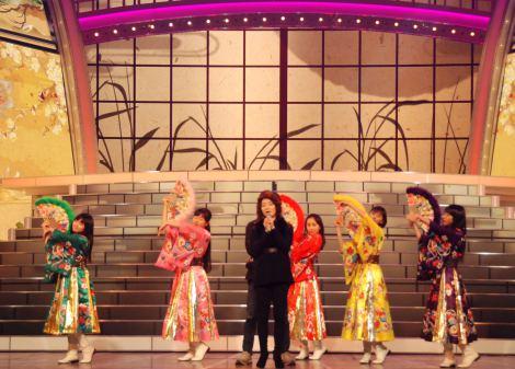 『第64回NHK紅白歌合戦』のリハーサルを行った香西かおり&ももいろクローバーZ (C)ORICON NewS inc.