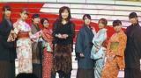 伍代夏子とAKB48がコラボ!=『第64回NHK紅白歌合戦』のリハーサル (C)ORICON NewS inc.