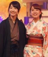 伍代夏子とコラボしたAKB48=『第64回NHK紅白歌合戦』のリハーサル (C)ORICON NewS inc.