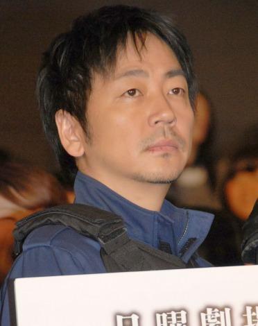 ドラマ『S-最後の警官-』の第1話特別試写会に出席した大森南朋 (C)ORICON NewS inc.