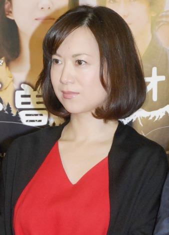 ドラマ『木曽オリオン』の完成会見に出席した和久井映見 (C)ORICON NewS inc.