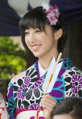 『2014年飛躍祈願 晴れ着初詣』に出席したE-girls・坂東希 (C)ORICON NewS inc.