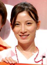 TBS系ドラマ『Dr.DMAT』の制作発表会見に出席した加藤あい (C)ORICON NewS inc.