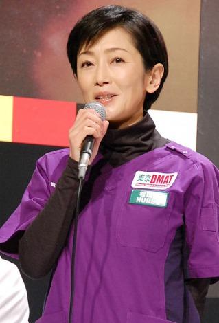 TBS系ドラマ『Dr.DMAT』の制作発表会見に出席した麻生祐未 (C)ORICON NewS inc.