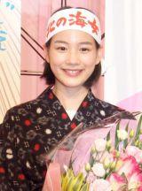 放送は終了してもブームの熱気は冷めそうにない『あまちゃん』ヒロイン・アキを演じた能年玲奈(C)NHK