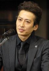 映画『鷲と鷹』完成披露記者会見に出席した大沢樹生 (C)ORICON NewS inc.
