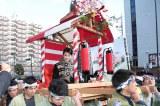 今宮戎神社の宝恵駕行列に参加した女優の高畑充希(写真提供:NHK)