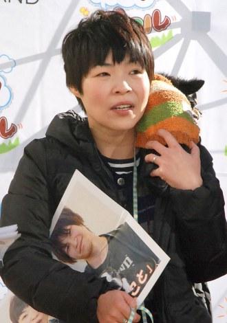『ワン!ダフル』プロジェクトキックオフ記者会見に出席した山田花子 (C)ORICON NewS inc.