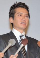 今月7日の会見で涙を見せていた大沢樹生 (C)ORICON NewS inc.