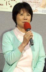 NHK鳥取『ちょっとは、ダラズに。』完成試写会に出席した森昌子 (C)ORICON NewS inc.