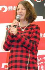 第1子を出産したスザンヌ(写真=11月イベント登場時・妊娠9ヶ月) (C)ORICON NewS inc.