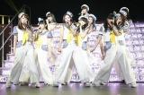 記念すべきHKT48初ツアー1曲目はモーニング娘。のヒット曲「ザ☆ピ〜ス!」(C)AKS