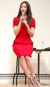 映画『ニシノユキヒコの恋と冒険』の完成報告会見に出席した木村文乃 (C)ORICON NewS inc.