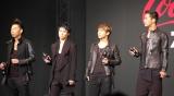 (左から)USA、TETSUYA、NAOTO、NAOKI=『EXILE Zero Limitキャンペーン第二章』オープニングイベント