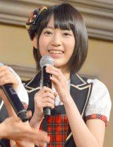 「青森りんごクイーン」に就任したHKT48・宮脇咲良 (C)ORICON NewS inc.