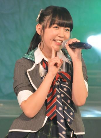 『博多レジェンド』出張公演で新チームのキャプテン就任を報告したHKT48の多田愛佳 (C)ORICON NewS inc.