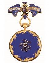ロンドン万博でヴィクトリア女王に献上されたペンダント・ウォッチ(1851年)