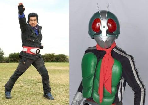 藤岡弘、が38年ぶりに仮面ライダー1号に変身