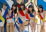 たLinQ(左から)高木悠未、桃咲まゆ、天野なつ、吉川千愛、瑞稀もえ (C)ORICON NewS inc.