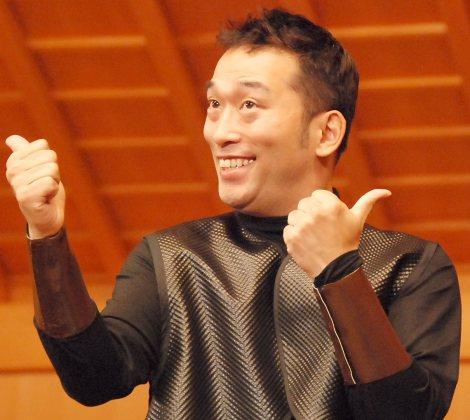『現代狂言VIII 狂言とコントが結婚したら…』制作記者発表会に出席したやすせなす・石井康太 (C)ORICON NewS inc.