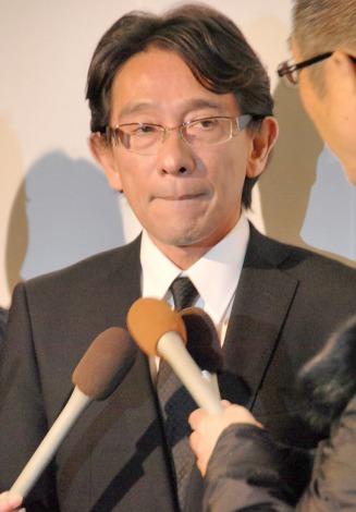 喪主を務めた淡路恵子さんの長男・島英津夫 (C)ORICON NewS inc.