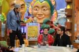『半沢直樹』に竹下清彦役で出演した赤井英和は、半沢と一緒に東田社長(宇梶剛士)を追い詰めた第5話のクライマックスを再現する(C)ABC