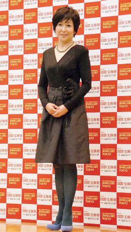 『第25回 日本ジュエリー ベストドレッサー賞』を受賞した竹下景子 (C)ORICON NewS inc.