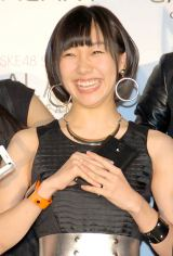 SKE48スペシャルユニット『GALAXY of DREAMS』活動開始記者発表に出席した須田亜香里 (C)ORICON NewS inc.