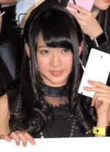 SKE48スペシャルユニット『GALAXY of DREAMS』活動開始記者発表に出席した木崎ゆりあ (C)ORICON NewS inc.