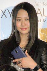 SKE48スペシャルユニット『GALAXY of DREAMS』活動開始記者発表に出席した古畑奈和 (C)ORICON NewS inc.