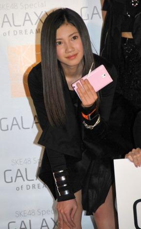 SKE48スペシャルユニット『GALAXY of DREAMS』活動開始記者発表に出席した北川綾巴 (C)ORICON NewS inc.