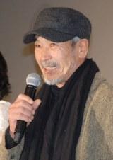 田中泯=映画『永遠の0』大ヒット舞台あいさつ