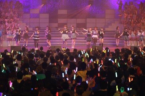 160位は「夕陽を見ているか?」=『AKB48リクエストアワー セットリストベスト200 2014』2日目公演 (C)AKS
