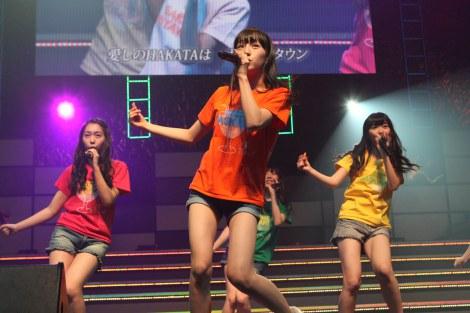 167位は「HKT48」=『AKB48リクエストアワー セットリストベスト200 2014』2日目公演 (C)AKS