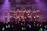 恒例ライブイベント『AKB48リクエストアワー セットリストベスト200 2014』の4日目公演を行ったAKB48(C)AKS