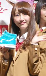 茶髪姿を披露したSKE48の松井玲奈 (C)ORICON NewS inc.