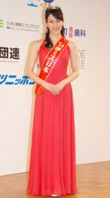 「準ミス日本」に選出された臼田美咲さん=『第46回2014年度ミス日本グランプリ決定コンテスト』 (C)ORICON NewS inc.