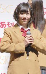 『SKE48×ASBee イメージキャラクター』発表会に出席した須田亜香里 (C)ORICON NewS inc.