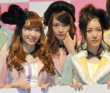 「チーム8」発足を発表したAKB48(左から)小嶋陽菜、川栄李奈、松井珠理奈 (C)ORICON NewS inc.