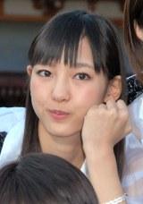 ヒット祈願を行ったモーニング娘。'14の飯窪春菜 (C)ORICON NewS inc.