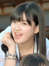 ヒット祈願を行ったモーニング娘。'14の鈴木香音 (C)ORICON NewS inc.