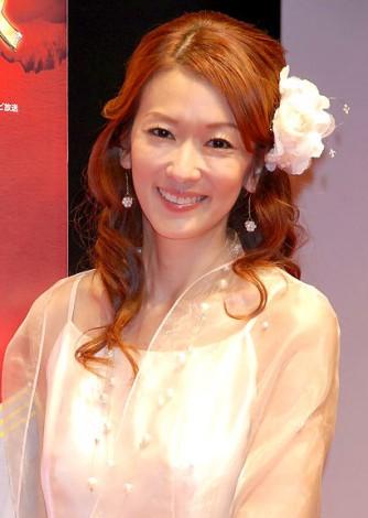 パチンコ新機種『CR牡丹と薔薇』発表会に出席した大河内奈々子 (C)ORICON DD inc.