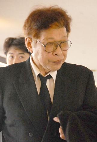 永井一郎さんの葬儀・告別式に出席したマスオさん・増岡弘 (C)ORICON NewS inc.