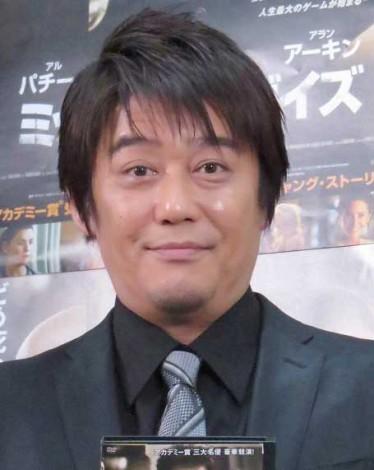 『ミッドナイト・ガイズ』Blu-ray&DVDリリース記念イベントに出席した坂上忍 (C)ORICON NewS inc.