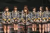 3月の国立競技場で卒業することを発表した大島優子(C)AKS