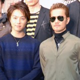 『EXILE PERFORMER BATTLE AUDITION』の取材会に出席した(左から)TAKAHIRO、ATSUSHI (C)ORICON NewS inc.